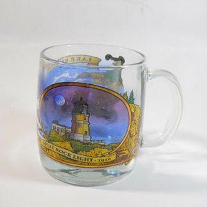 Lake Superior Ontario Canada, Glass Mug Souvenir